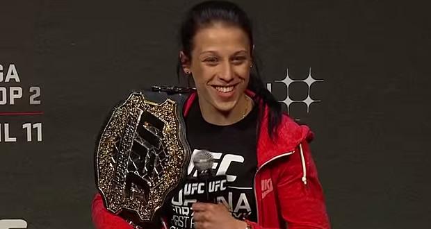 Joanna Jedrzejczyk UFC Strawweight Champion