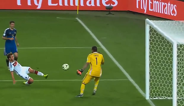 Germany 2014 World Cup Final Goal