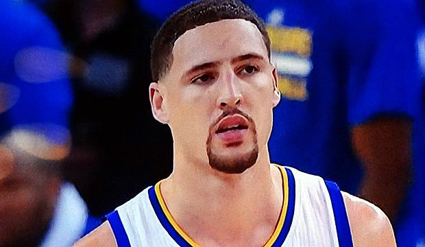NBA Basketball Player Klay Thompson