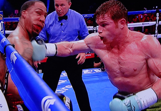canelo alvarez vs james kirkland knockout