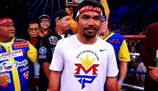 boxing champion manny pacquiao