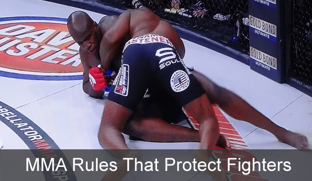 MMA rules that protect fighters