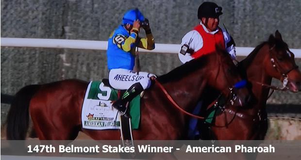 Belmont Stakes Winner American Pharoah