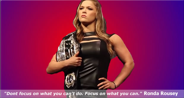 Ronda Rousey Can Do Anything