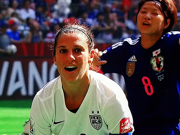 Soccer Player Carli Lloyd