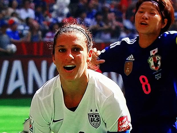 Soccer Player Carli Lloyd