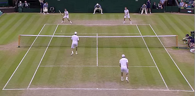 Wimbledon Mens Mixed Doubles