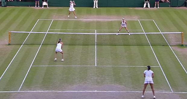 Wimbledon Women's Mixed Champions